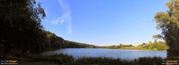 Jezioro Klasztorne Małe w Kartuzach