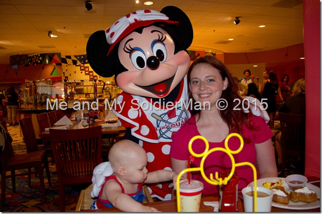 Me and My SoldierMan: Baby G Does Disney(land) Minnie