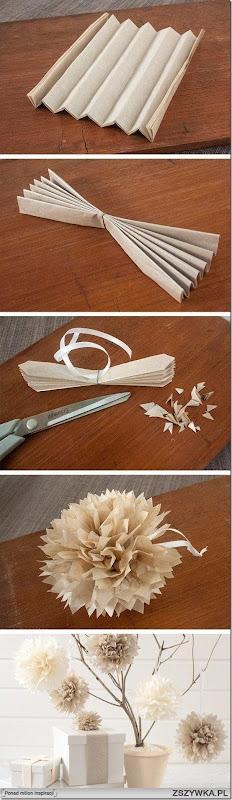 flor pompon