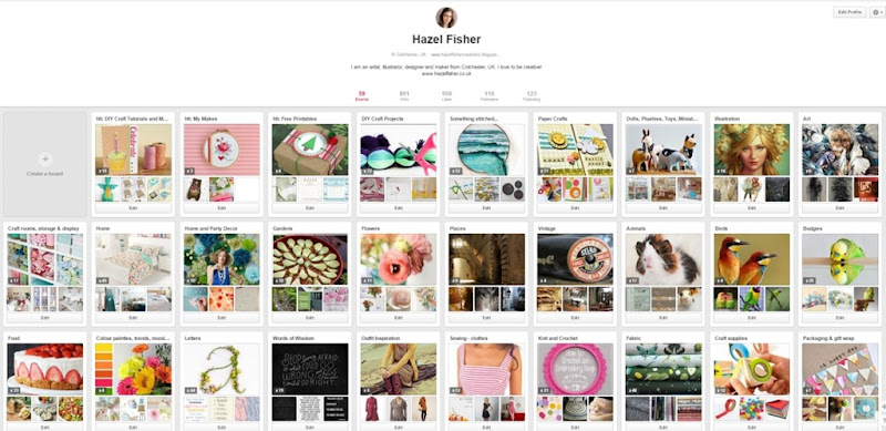 2015 June 30 monthly review pinterest hazelfishercreations