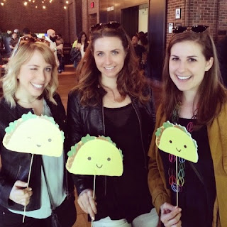Friends at Thrillist's Taco Knockout