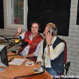 Feller und Feller bij Radio Westerwolde - Foto's Harry Wolterman