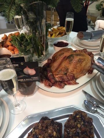 Heston's christmas dinner - Little House Lovely - Festive Food