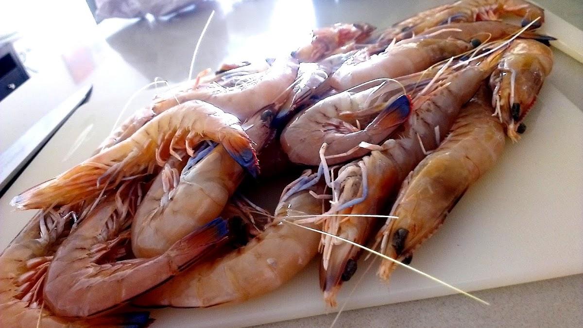 how to make crunchy prawns