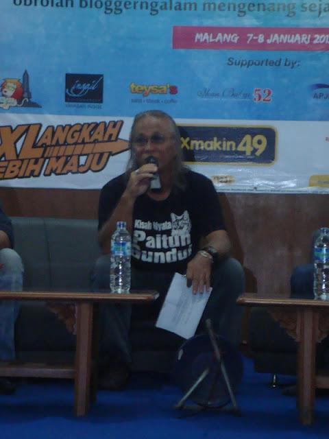 #OblongMerahMuda HUT ke 4 Blogger Ngalam | Ovan Tobing