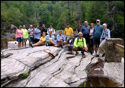 09c2 - Linville Falls Hike May 29 - good looking group