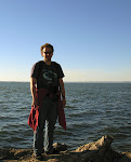 My friend Peter Philip on the Chesapeake Bay, Elk Neck State Park, near North East, Maryland, near the border to Delaware.