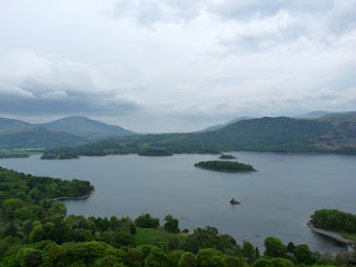 Derwentwater from the climb
