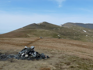 Lonscale Fell Summit with Skiddaw Little Man