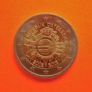 2012 Austria 10 años Euro