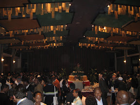 Another view of the reception.