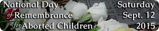 remembrance of aborted children