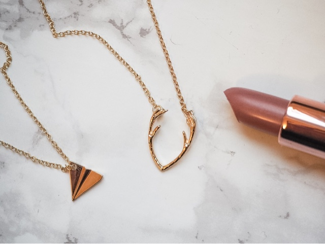 love-layyanah-bargain-jewellery-jewelry-gold-antler-necklace-origami-paper-plane-necklace-arrow-bracelet-cuff-bracelet