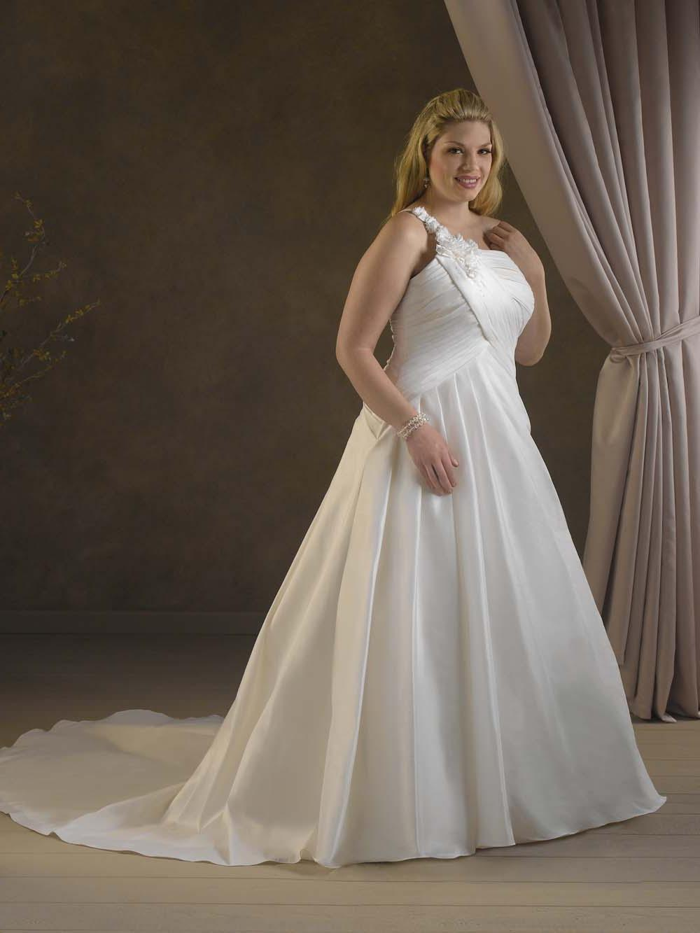 Rashawn 39 s blog champagne and beige wedding for Plus size beige wedding dresses