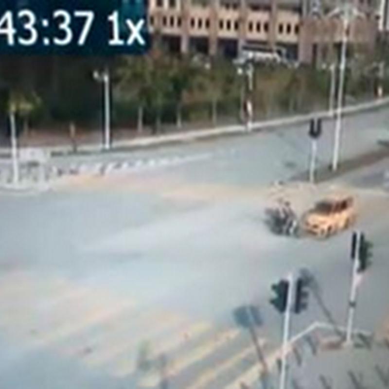 Kemalangan di Putrajaya , MyVi lagi !