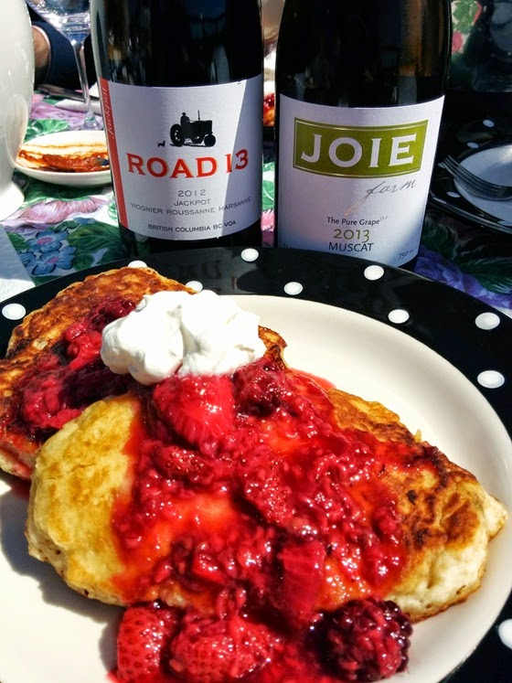 Pancakes & Compote with Road 13 Jackpot VRM & Joie Muscat