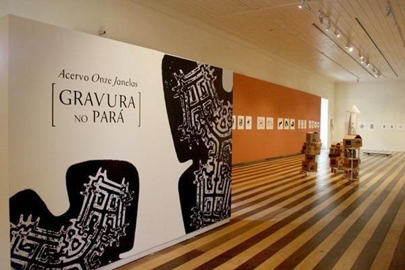 Casa das Onze Janelas, esposizione - Belém do Parà, foto: Armando Sobral