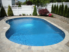 16' x 32' free form pool - Melville, Long Island NY