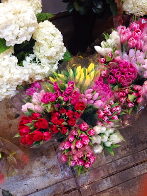 eastern market, tulips