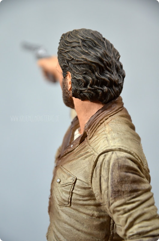 #twd (08) The Walking Dead McFarlane Action Figure Deluxe Rick Grimes
