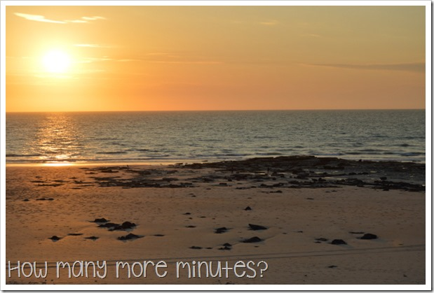 Sunset at Cable Beach | How Many More Minutes?