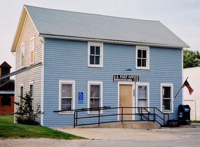 Homestead, Iowa post office, 2003