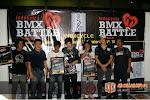 The Winners of Indonesia BMX Battle Tournament '08 [ Left to Right : Rizky (The Best Trick), Yudi (Wimcycle), Botay (Longest Backyard), Mike Ishizuka (Haro's Rider), Jujun (The Best Perform), Colin MacKay (Haro's Rider)