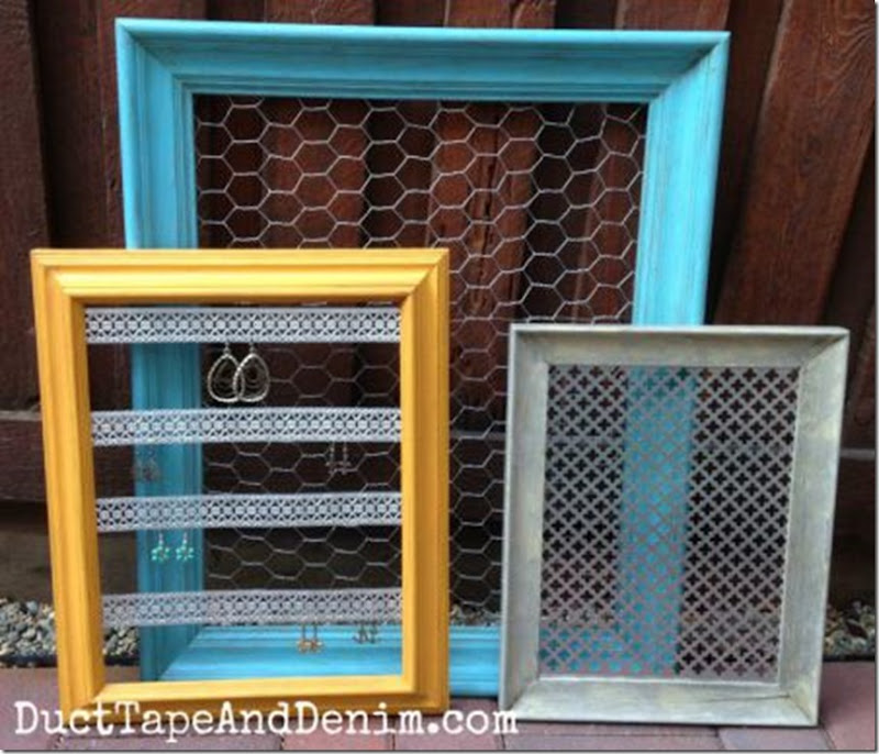 Thrift-store-makeover-completed-frames-DuctTapeAndDenim.com_