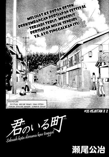Manga kimi no iru machi 36 page 2