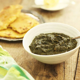 Spinach Puree Garlic Recipes