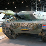 Leopard tank at Dutch National Military Museum Soesterberg in Soest, Utrecht, Netherlands