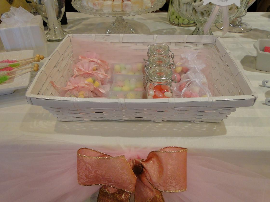 Our WEDDING CANDY TABLE