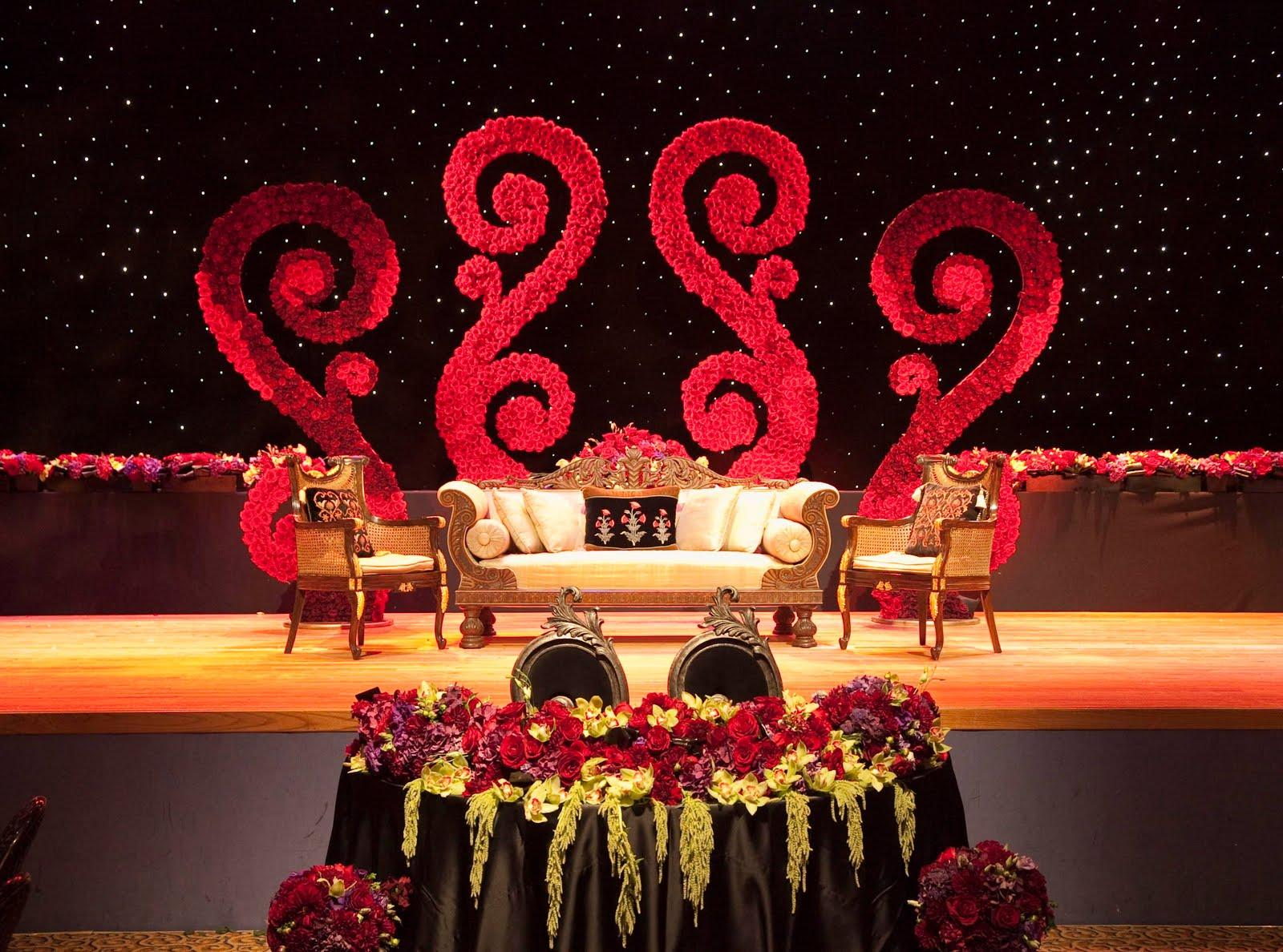 Sterrling 39 s blog reception stage for 25th wedding anniversary stage decoration