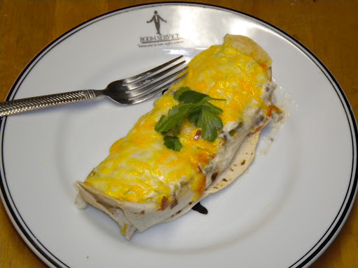 Chicken Enchilada with White Sauce; Daniel Lechleiter
