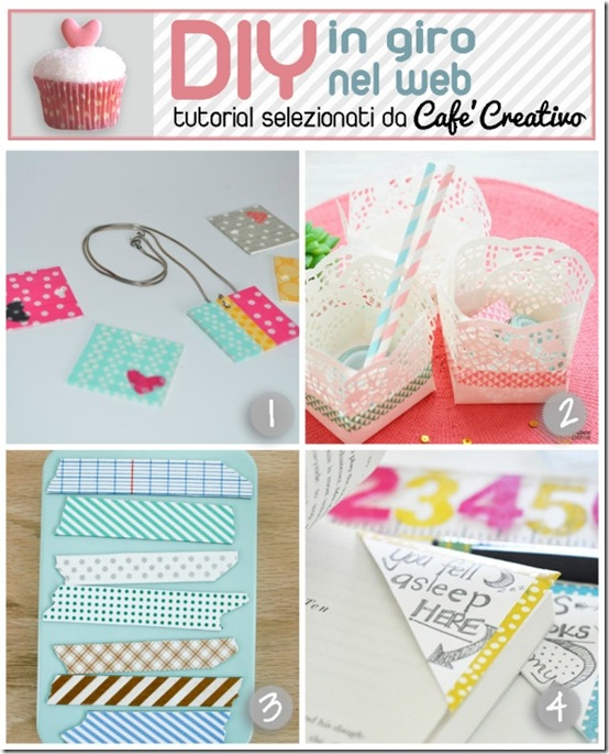 cafecreativo-tutorial washi tape - scotch decorati