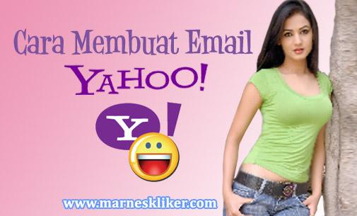 Cara Terbaru Membuat Email Yahoo