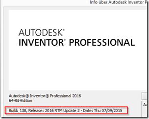 autodesk inventor faq inventor 2016 update 2 verf gbar. Black Bedroom Furniture Sets. Home Design Ideas