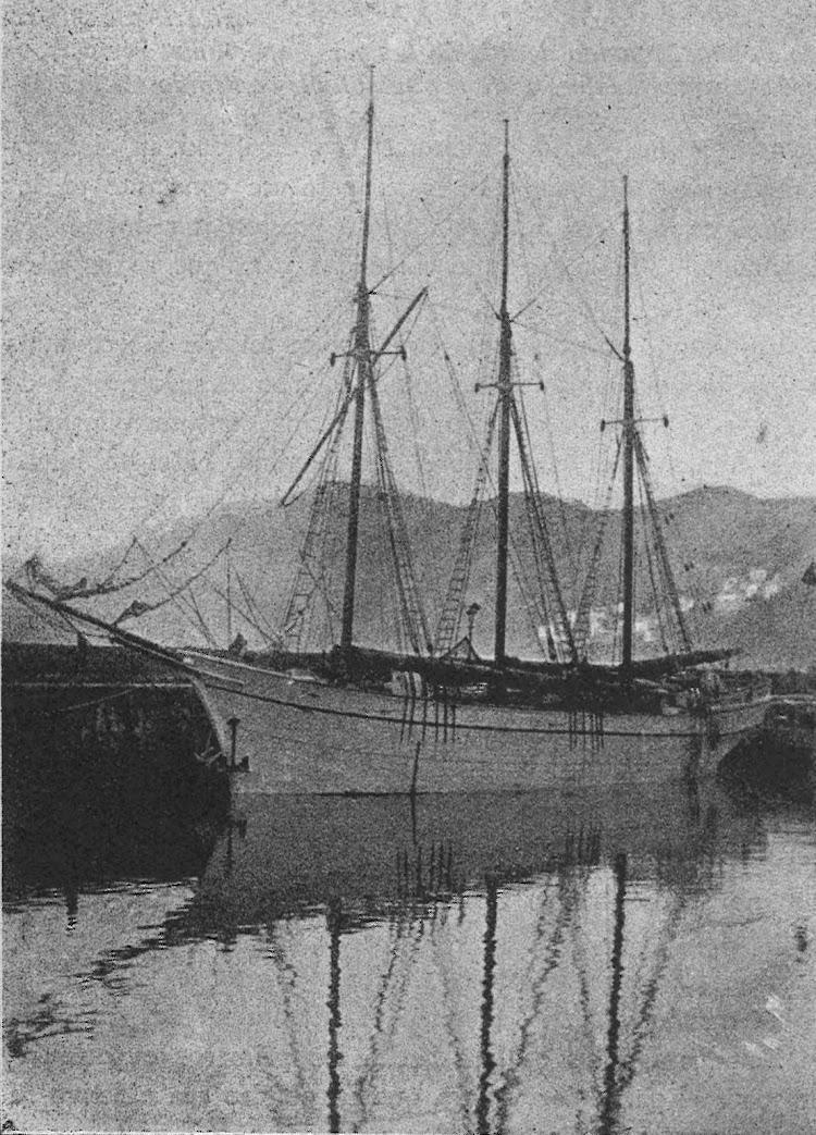 Pailebot VIRGEN DEL CORO. Foto de la revista Navegación. Año 1919.jpg
