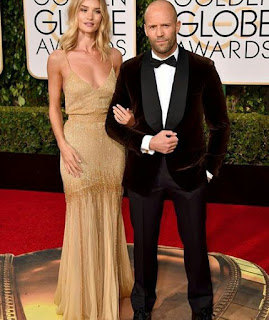Jason Statham and Rosie Huntington Whiteley