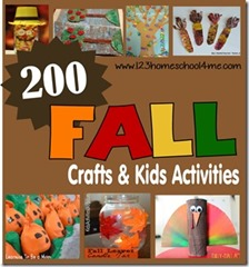 200 Fall Crafts and Kids Activitie for Fall