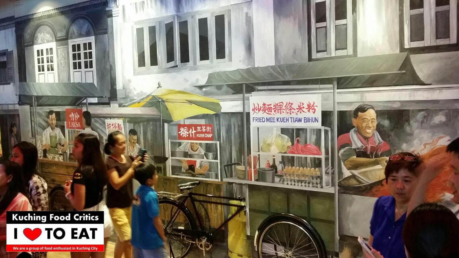Kuching food critics kuching flavors vivacity megamall for Home wallpaper kuching