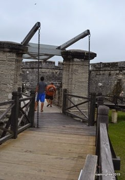 Entering the Fort