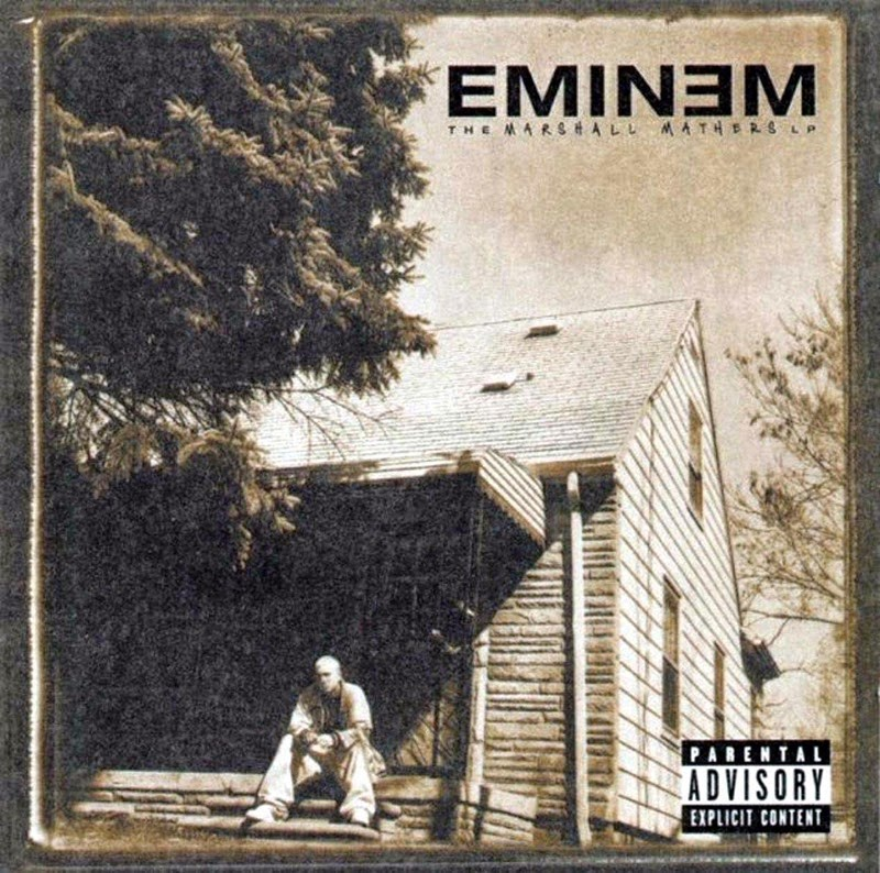 EminemTheMarshallMathers-front