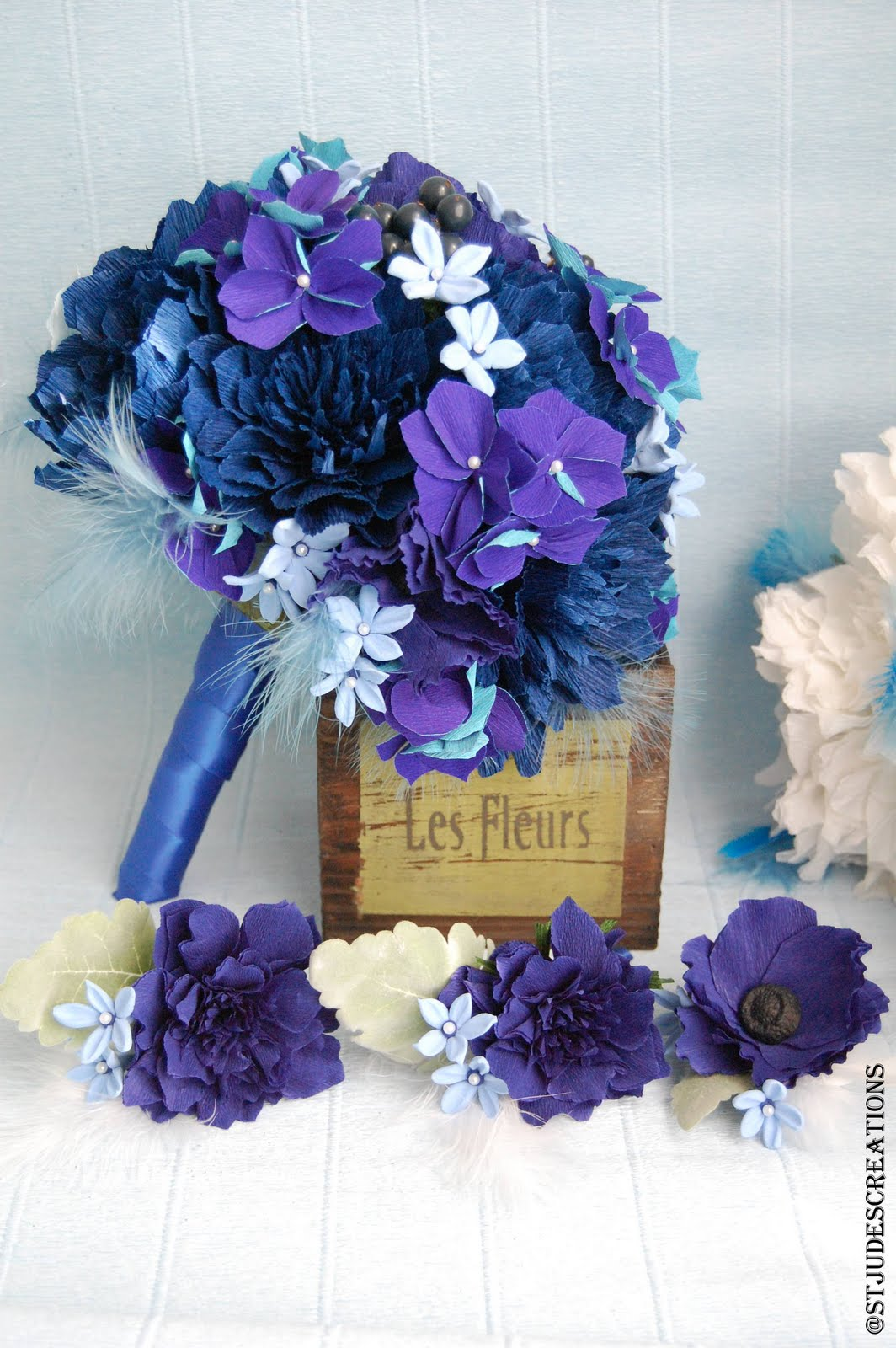 midnight royal blue wedding