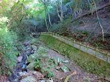 A walkway near the Minoh waterfall