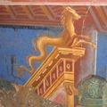Affresco villa romana a Positano