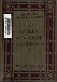 Cover of William Alexander Craigie's Book Religion of Ancient Scandinavia