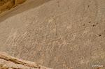 Wadi Rum - Gravures rupestres