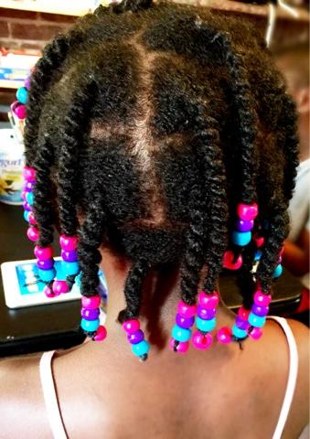 Plaits Natural Hair Box Braids With