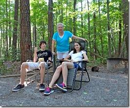 Nate Hannah Josh Camping Kerr Dam 015